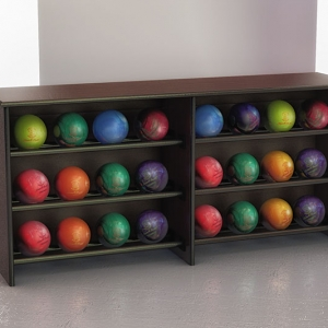 ball rack storage for 24 balls