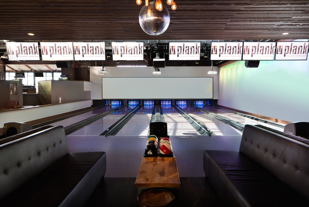 plank oakland bowling alley furniture