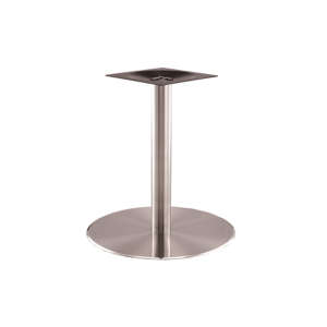 Stainless Steel Round Base