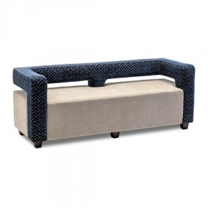 modern floating back sofa